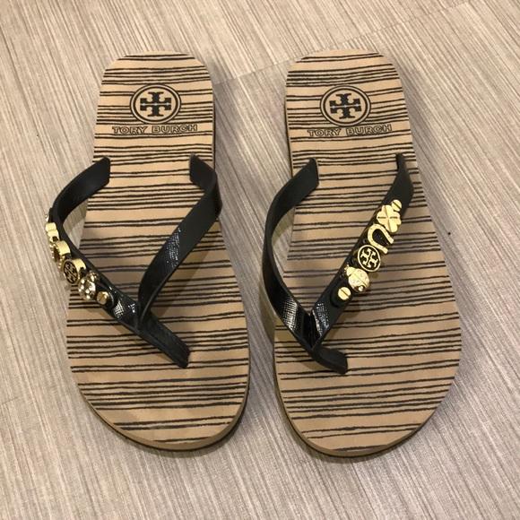 Tory Burch flip flops 5.5